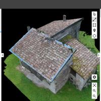 Modelisation 3D d'une toiture