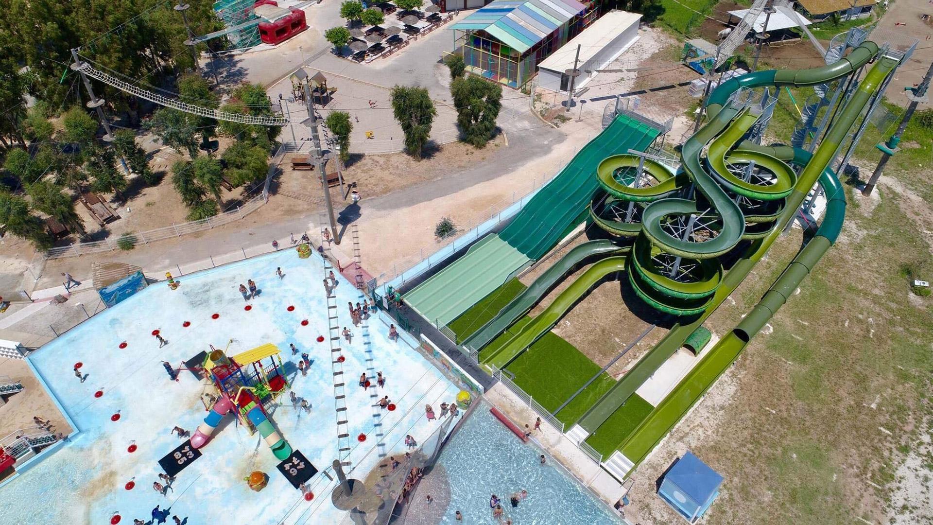 Kiddy parc prise de vue aerienne