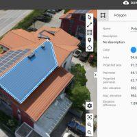 Modelisation 3D sur toiture