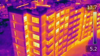 deperditions d'energie des bâtiments