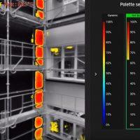 image mesurant les ecarts de chaleur